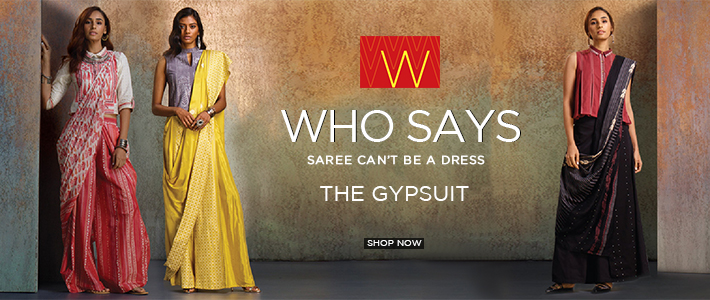 Neither a saree nor a jumpsuit, we call it GYPSUIT!