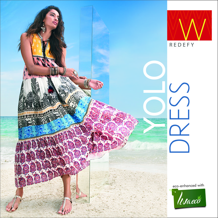 5a0d94a89c24 The YOLO DRESS – A Sustainable fashion statement! - W for Woman